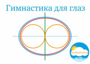 Гимнастика для глаз 4